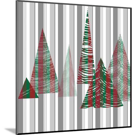 Oh Christmas Tree I-Sharon Gordon-Mounted Art Print
