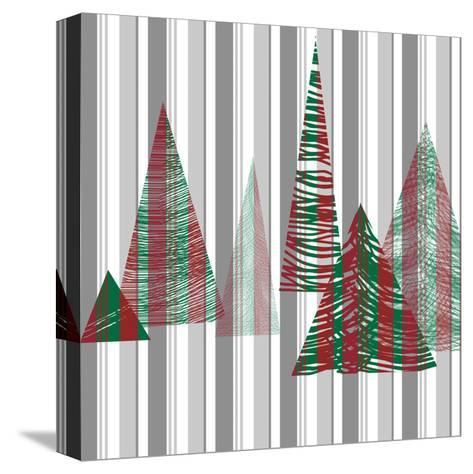 Oh Christmas Tree I-Sharon Gordon-Stretched Canvas Print