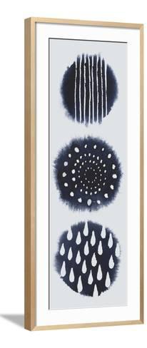 2-Up Circular Trilogy I-Grace Popp-Framed Art Print