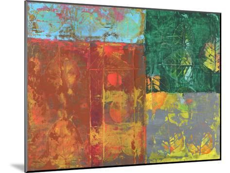Colorful Leaf Imprint I-Elena Ray-Mounted Art Print