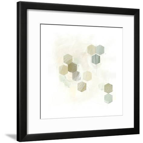 Honeycomb Reaction II-June Vess-Framed Art Print