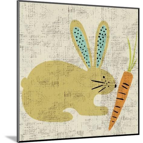 Ada's Bunny-Chariklia Zarris-Mounted Art Print
