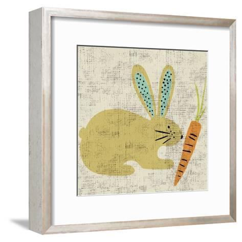 Ada's Bunny-Chariklia Zarris-Framed Art Print
