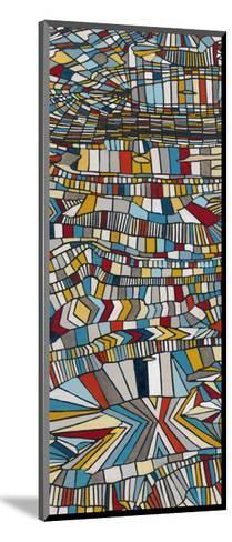 Primary Grain II-Nikki Galapon-Mounted Art Print