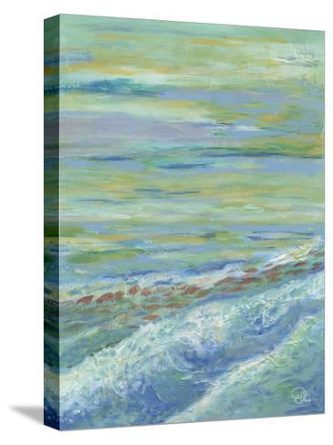 Red Fish II-Olivia Brewington-Stretched Canvas Print