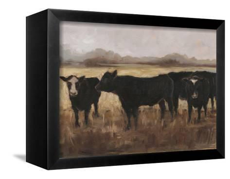 Black Cows I-Ethan Harper-Framed Canvas Print
