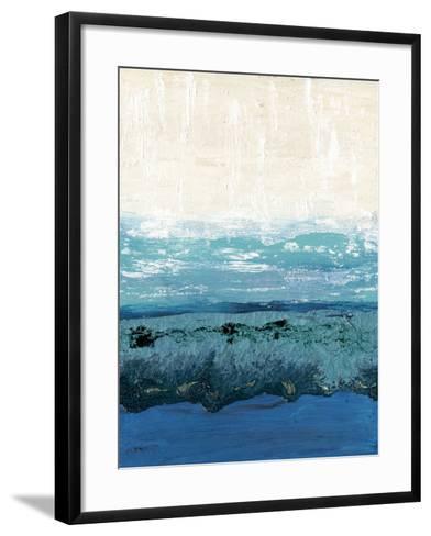 Sapphire Cove I-Alicia Ludwig-Framed Art Print