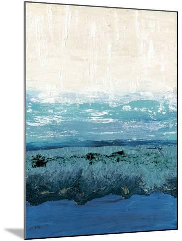 Sapphire Cove I-Alicia Ludwig-Mounted Art Print