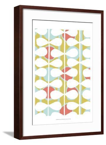 Retro Stems II-Grace Popp-Framed Art Print