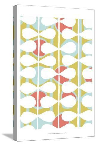Retro Stems II-Grace Popp-Stretched Canvas Print