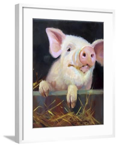 Farm Club II-Carolyne Hawley-Framed Art Print