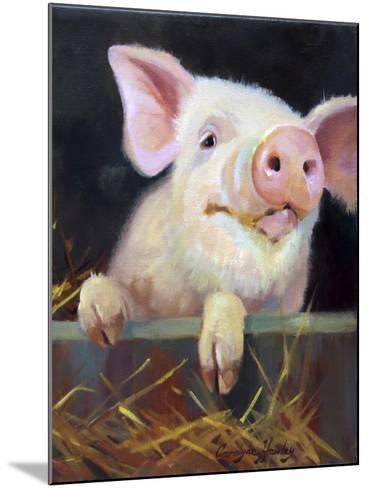 Farm Club II-Carolyne Hawley-Mounted Art Print