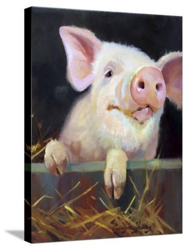 Farm Club II-Carolyne Hawley-Stretched Canvas Print