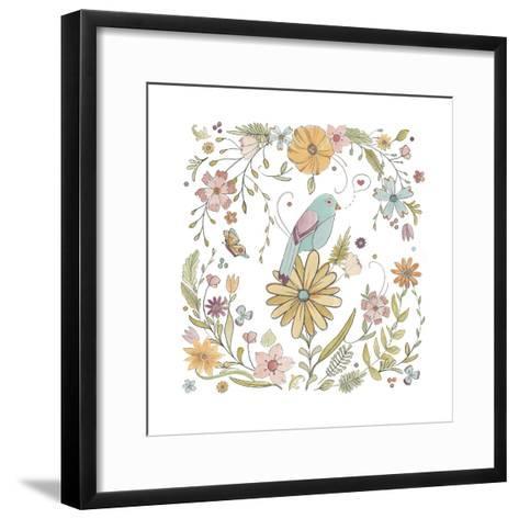 Happy Garden I-June Vess-Framed Art Print