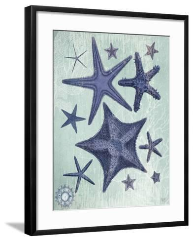 Seashell Collection 2 d-Fab Funky-Framed Art Print