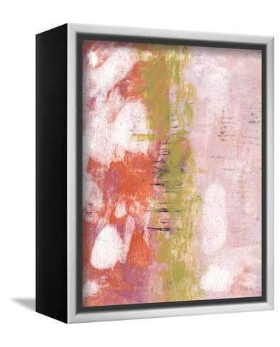 Rosy Composition I-Naomi McCavitt-Framed Canvas Print
