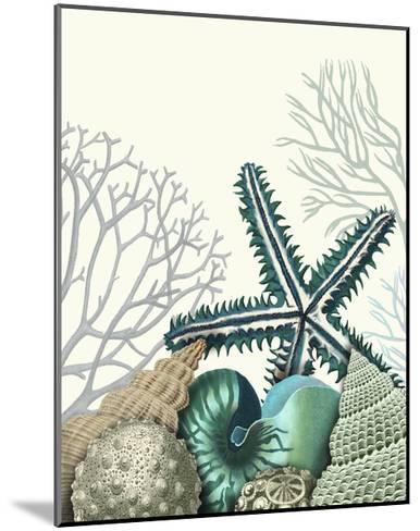 Starfish Under the Sea-Fab Funky-Mounted Art Print