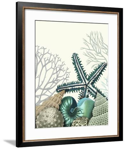Starfish Under the Sea-Fab Funky-Framed Art Print