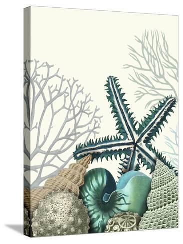 Starfish Under the Sea-Fab Funky-Stretched Canvas Print