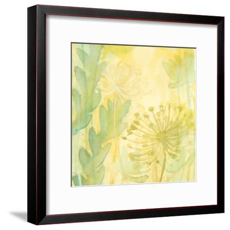 Florid Garden I-Renee W^ Stramel-Framed Art Print