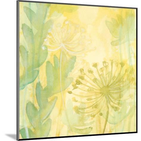 Florid Garden I-Renee W^ Stramel-Mounted Art Print