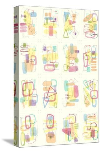 Mid Century Exploration III-Nikki Galapon-Stretched Canvas Print