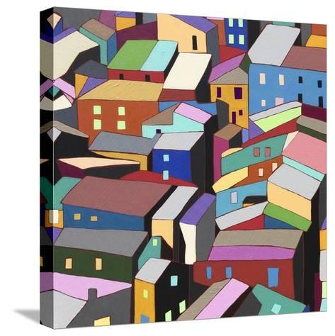 Rooftops I-Nikki Galapon-Stretched Canvas Print