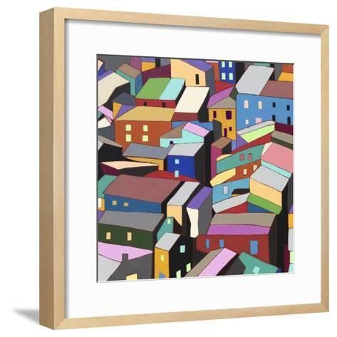 Rooftops I-Nikki Galapon-Framed Art Print