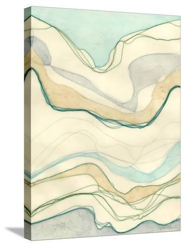 Ocean Cascade I-Vanna Lam-Stretched Canvas Print