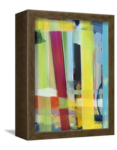 Intersecting Colors II-Jodi Fuchs-Framed Canvas Print