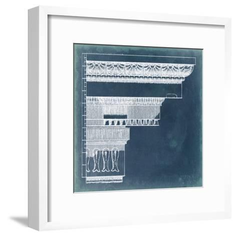Capital Blueprint II-Vision Studio-Framed Art Print