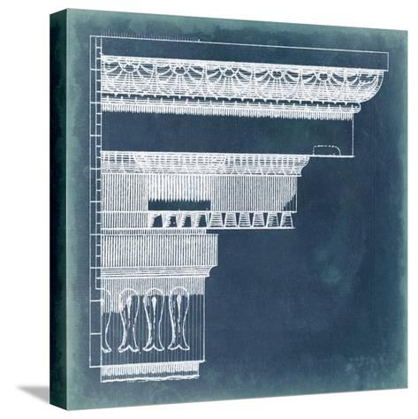 Capital Blueprint II-Vision Studio-Stretched Canvas Print