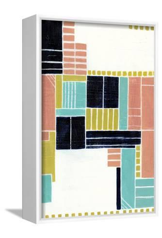 Blithe Puzzle II-Grace Popp-Framed Canvas Print