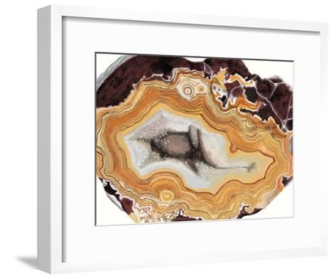 Agate Studies III-Naomi McCavitt-Framed Art Print