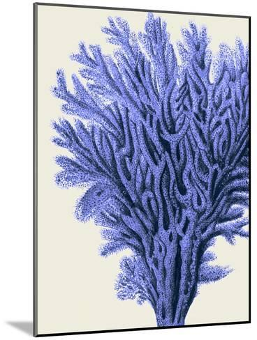 Blue Corals 2 a-Fab Funky-Mounted Art Print