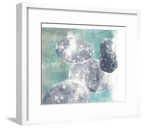Descending Orbs I-Jennifer Goldberger-Framed Art Print