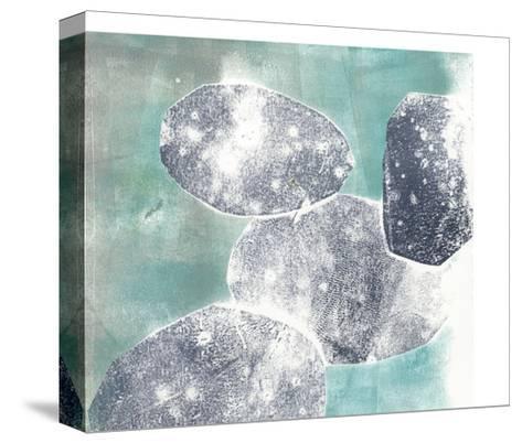 Descending Orbs I-Jennifer Goldberger-Stretched Canvas Print