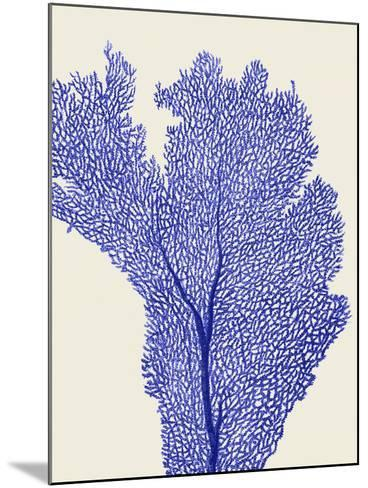 Blue Corals 2 e-Fab Funky-Mounted Art Print