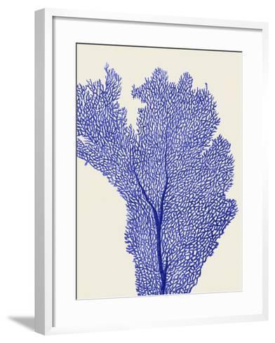 Blue Corals 2 e-Fab Funky-Framed Art Print