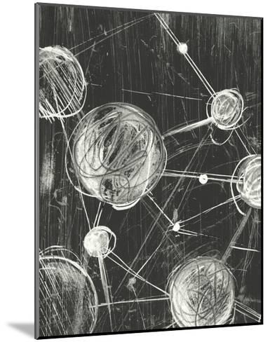 Molecular Fusion I-Ethan Harper-Mounted Art Print