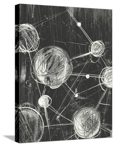 Molecular Fusion I-Ethan Harper-Stretched Canvas Print
