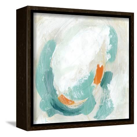 Tidal Current I-June Vess-Framed Canvas Print