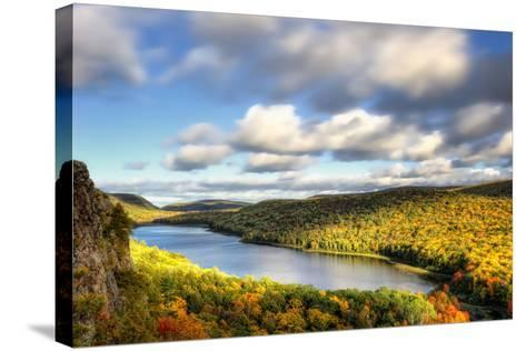 Lake of the Clouds-PHBurchett-Stretched Canvas Print