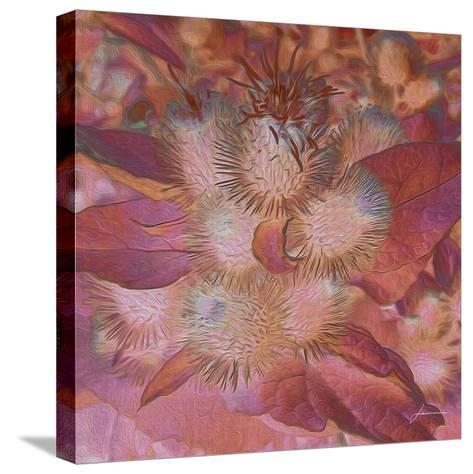 Prickley Tiles III-James Burghardt-Stretched Canvas Print
