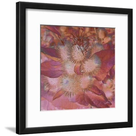 Prickley Tiles III-James Burghardt-Framed Art Print