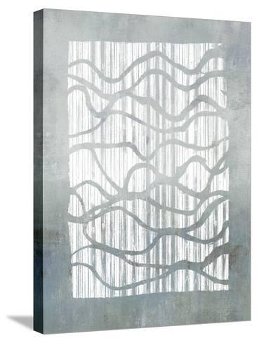 Inverse Grey-Jennifer Goldberger-Stretched Canvas Print