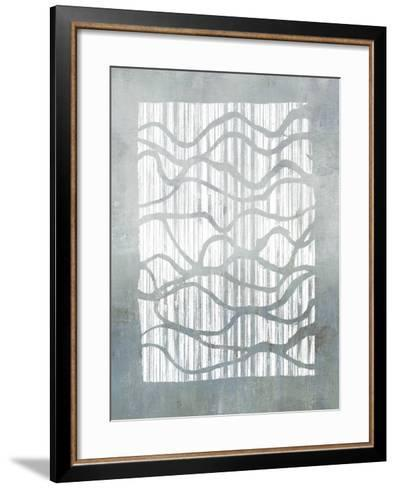 Inverse Grey-Jennifer Goldberger-Framed Art Print