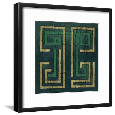 Emerald Diversion I-Chariklia Zarris-Framed Art Print