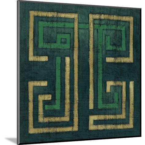 Emerald Diversion I-Chariklia Zarris-Mounted Art Print
