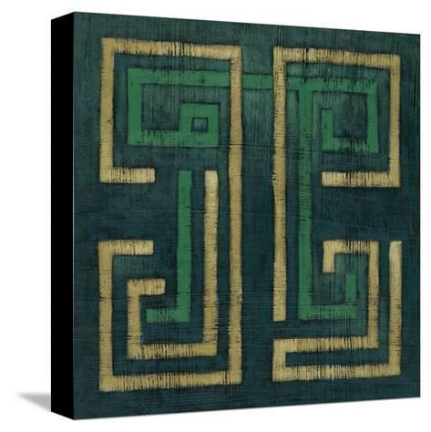 Emerald Diversion I-Chariklia Zarris-Stretched Canvas Print